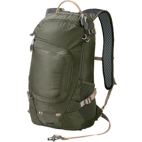 Jack Wolfskin Crosser 18 Pack Plecak oliwkowy 2018 Plecaki szkolne i turystyczne, kolor zielony