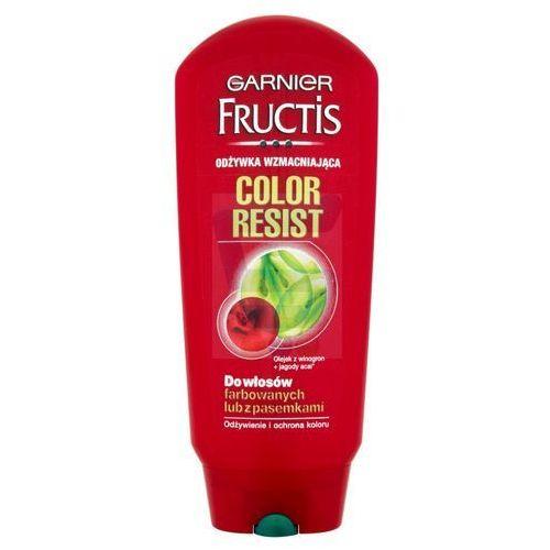 Garnier fructis color resist wzmacniający balsam do włosów farbowanych (fortifying balm) 200 ml (3600010020691)