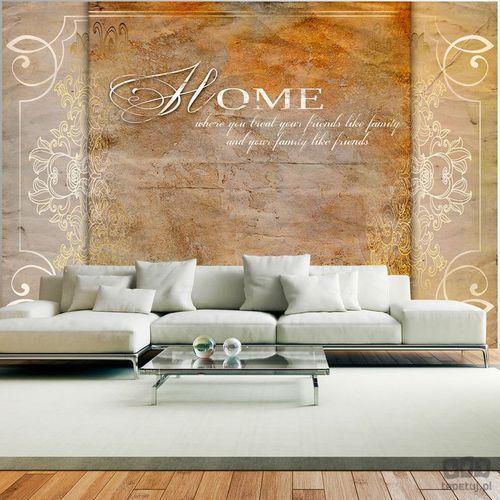 Fototapeta Home, where you treat your friends like family... 10110905-116