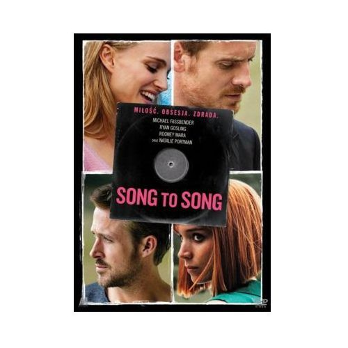 Song to Song (DVD) + Książka (9788365736703)