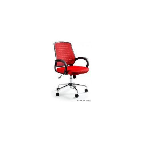 Krzesło biurowe Award czerwone