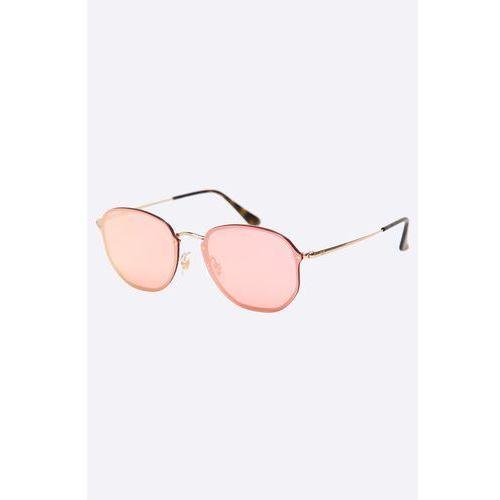 - okulary blaze hexagonal marki Ray-ban