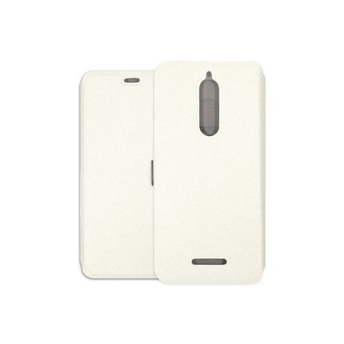 Wiko View - etui na telefon Wallet Book - biały
