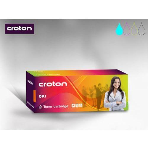 Croton Toner Oki 44973535 Cyan 1,5k - CN refabrykowany - C301/ C321/ MC332/ MC342