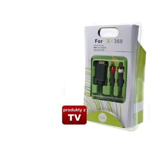 Veovision Kabel xbox 360 gold + audio