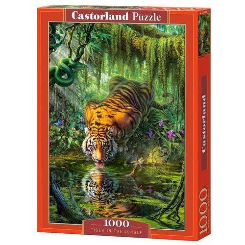 Puzzle 1000 tiger in the jungle - od 24,99zł darmowa dostawa kiosk ruchu marki Castor
