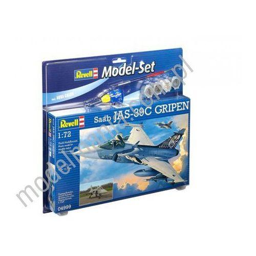 Revell Myśliwiec wielozadaniowy saab jas-39c gripen (z farbami) 64999 (4009803649993)