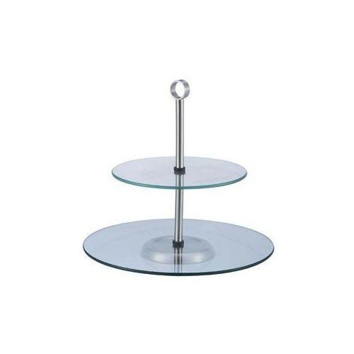 Verlo Patera 2 stopniowa szklana | wys. 28cm