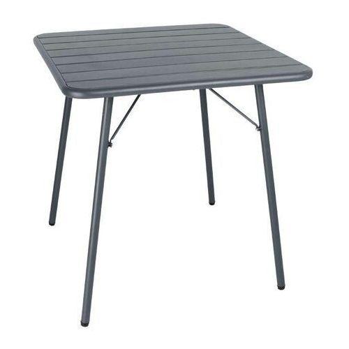 Bolero Stół składany 70cm szary | 70x70x(h)71cm