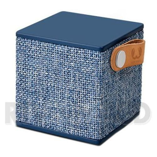 Fresh n rebel Głośnik bluetooth rockbox cube fabrick edition indigo (8718734652656)