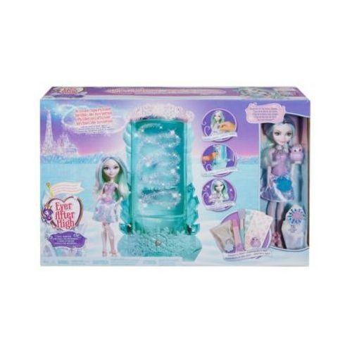 Ever after high zestaw zimowy brokat+ lalka dlb39 marki Mattel