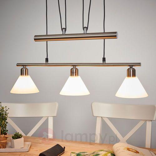 Lampa wisząca o regulowanej wysokości, 3-punktowa (4017807137729)
