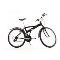 Aluminiowy rower składany SKŁADAK MIFA 26 cali, 21-biegów SHIMANO czarny - sprawdź w DostawaNaJutro.pl - sportowe...rowerowe...