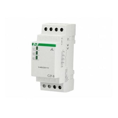 CZF-B Przekaźnik zaniku i asymetrii faz Czujnik 230V max10A 1Z 4sek 55V F&F 3041 (5908312593041)