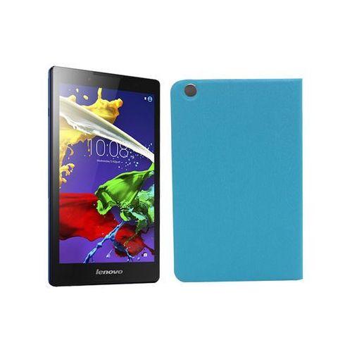 Lenovo Tab 3 A8-50 - etui na tablet Flex Book - niebieski, ETLN486FLBKBLU000