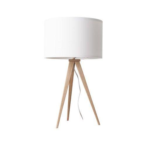 Zuiver lampa stołowa tripod biała drewniana 5200009