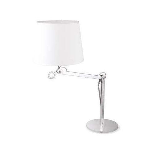Maxlight terra small f0005 lampa stojąca podłogowa 1x60w e27 aluminium / biała