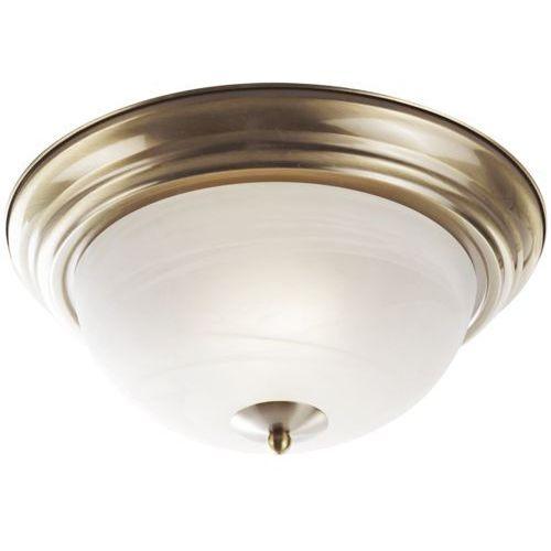 Plafon lampa oprawa sufitowa Rabalux Top 2x60W E27 mosiądz 2806, 2806