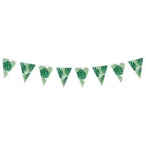 Baner flagi aloha liście - 1,3 m - 1 szt. marki Party deco