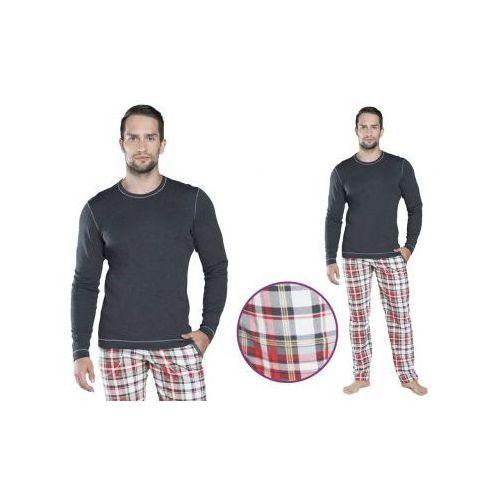 Piżama męska RIKARDO: szary