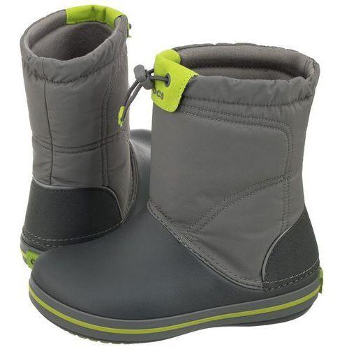 Śniegowce Crocs Crocband Lodge Point Boot K Smoke 203509-08G (CR106-c), 203509-08G