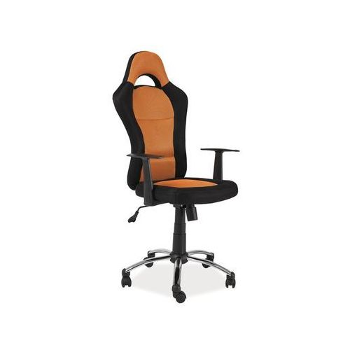Fotel obrotowy, krzesło biurowe Q-039 orange, Q-039 OR