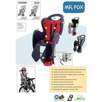 Fotelik dziecięcy na rower mr fox standard - popielaty marki Bellelli