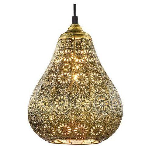 Trio JASMIN lampa wisząca Mosiądz, 1-punktowy - Vintage - Obszar wewnętrzny - JASMIN - Czas dostawy: od 4-8 dni roboczych (4017807286601)