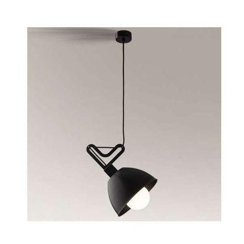 Shilo Lampa wisząca gobo 5591/e27/cz metalowa oprawa zwis czarny (1000000314335)