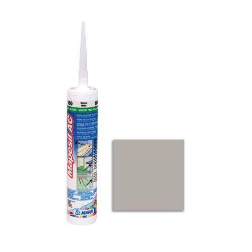 Silikon sanitarny MAPESIL AC 111 310 ml Srebrny MAPEI (8022452010163)