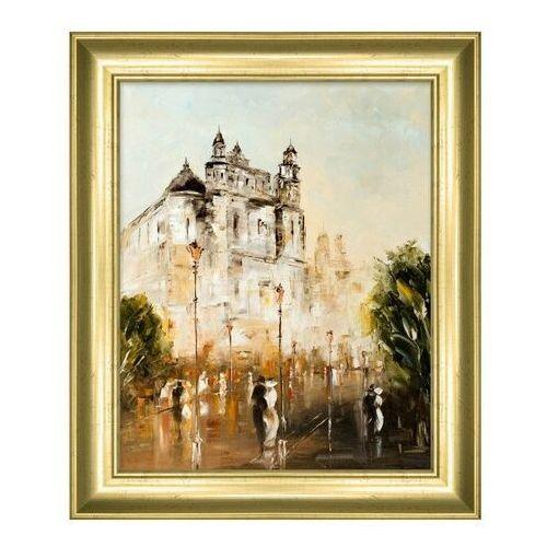 Obraz 24 x 30 cm Widok Pałac