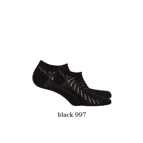 Stopki w81.76p damskie ażur rozmiar: uniwersalny, kolor: czarny/nero, wola, Wola