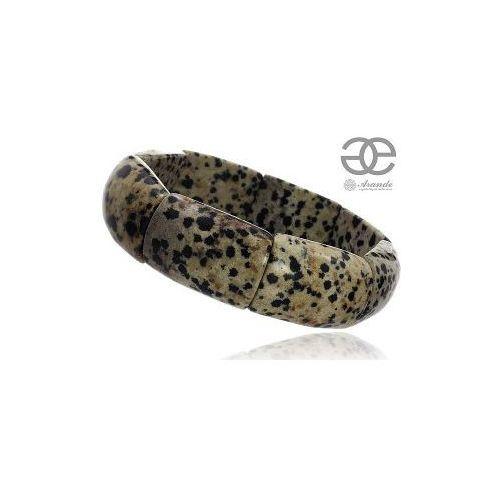 Arande Jaspis dalmatyński piękna bransoletka naturalna, kategoria: bransoletki