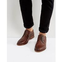 Walk london harrington leather weave shoes - brown
