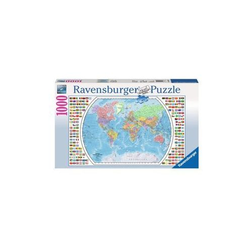 Ravensburger Raven puzzle mapa pol ityczna świata