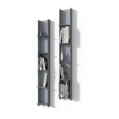 Biblioteczka Libra 1 szara - D2 Design - Zapytaj o rabat! (5902385709552)