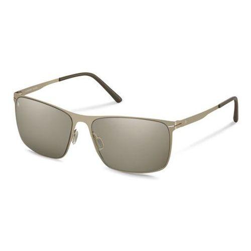 Okulary Słoneczne Rodenstock R1403 B, kolor żółty