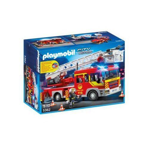 Samochód strażacki z drabiną, światłem i dźwiękiem - DARMOWA DOSTAWA!!!