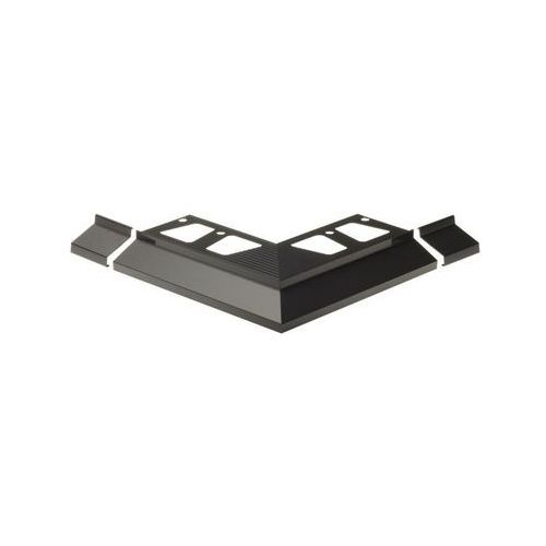 Narożnik balkonowego profilu okapowego okap100 aluminium marki Cezar