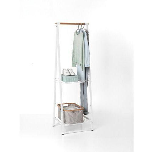 Brabantia - wieszak na ubrania z półkami, 60,00 cm, biały (8710755118227)