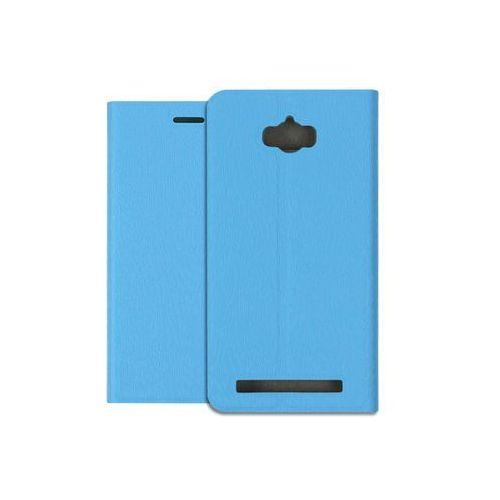 Asus Zenfone Max (ZC550KL) - pokrowiec na telefon - niebieski, ETAS311FLBKBLU000
