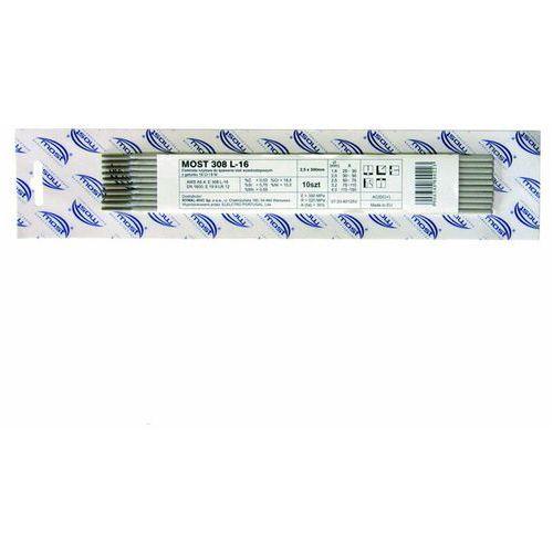 Elektrody stal nierdzewna Most fi 2,5 mm 10 szt., 072060125V