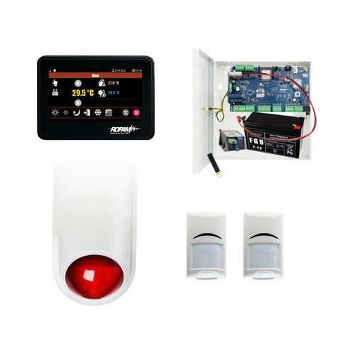 System Alarm Neogsm NeoGSM-IP-PS + 2xBosch + TPR-4B + Sygnalizator, ZA9332