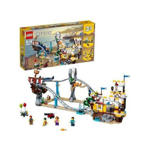 Lego CREATOR Piracka kolejka górska pirate roller coaster 31084. Najniższe ceny, najlepsze promocje w sklepach, opinie.