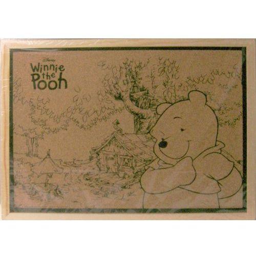 Disney Tablica korkowa kubuś puchatek, 30x40 cm
