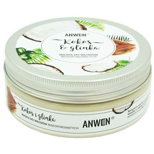 Anwen Kiełki pszenicy i kakao maska do włosów wysokoporowatych - (5900286012634)