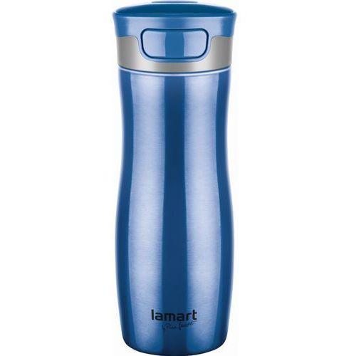 Lamart Kubek termiczny  lt4030 niebieski (8590669159864)