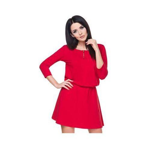 Sukienka model t163 red marki Tessita