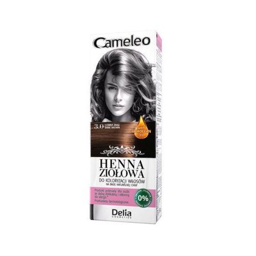 DELIA COSMETICS Cameleo 3.0 Brąz Henna ziołowa do koloryzacji włosów