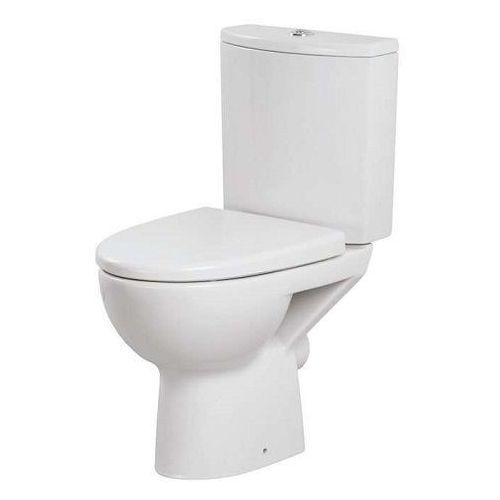 parva kompakt wc z deską duroplast, odpływ pionowy k27-003 marki Cersanit